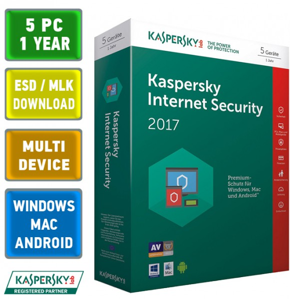 kaspersky internet security multi device 2017 5 pc ger te. Black Bedroom Furniture Sets. Home Design Ideas